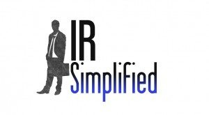 IR Simplified Podcast, Episode 13